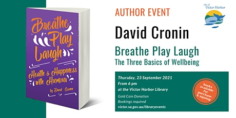 Author Event - David Cronin - Breathe Play Laugh tickets