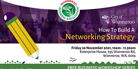 Business Workshop - How To Build A Networking Strategy tickets