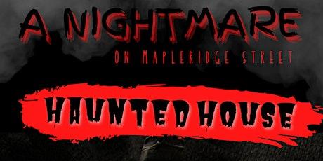 Nightmare  on  Mapleridge street Haunted house tickets