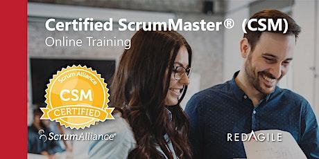 CERTIFIED SCRUM MASTER® (CSM®) | 12-13 OCTOBER | AUSTRALIAN COURSE ONLINE tickets