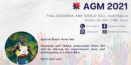 Thalassaemia and Sickle Cell Australia AGM 2021 tickets