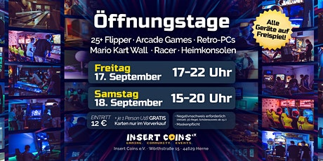 Öffnungstag (SAMSTAG 18.09.21) Tickets