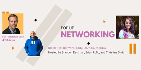 Pop Up Networking tickets