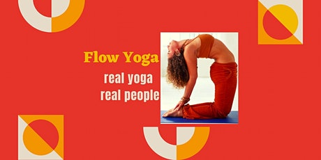 Yoga FLOW - Fabulous Online Yoga Class - Great workout, Tone & Stretch... tickets