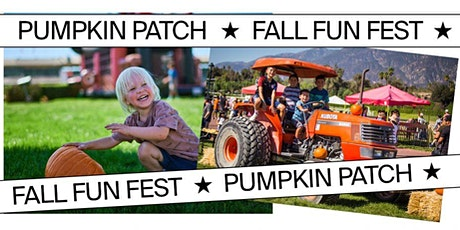 Santa Anita Park's Pumpkin Patch & Fall Fun Fest tickets