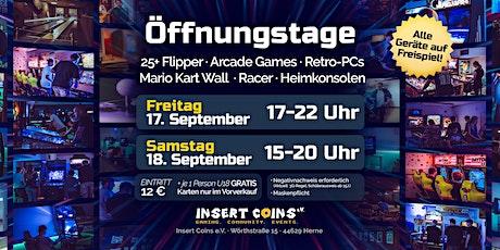 Öffnungstag (FREITAG 17.09.21) Tickets