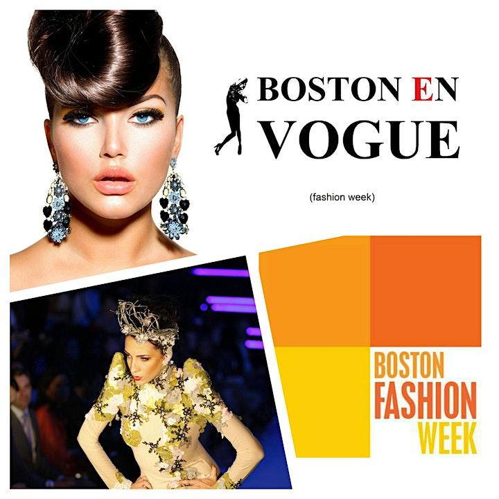 Boston Fashion Week - BOSTON EN VOGUE 2021 image