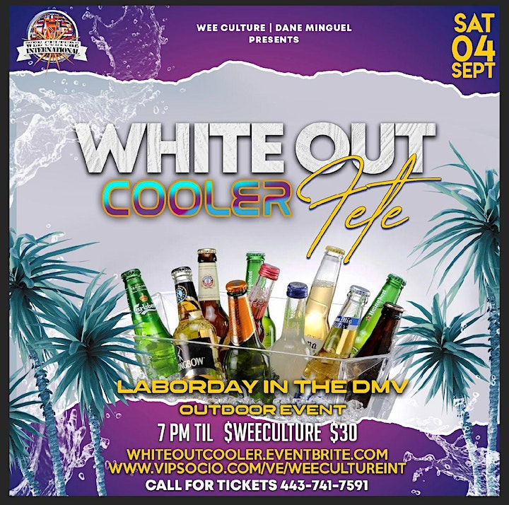 White Out Cooler Fete image