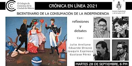 BICENTENARIO DE LA CONSUMACIÓN DE LA INDEPENDENCIA: reflexiones y debates entradas