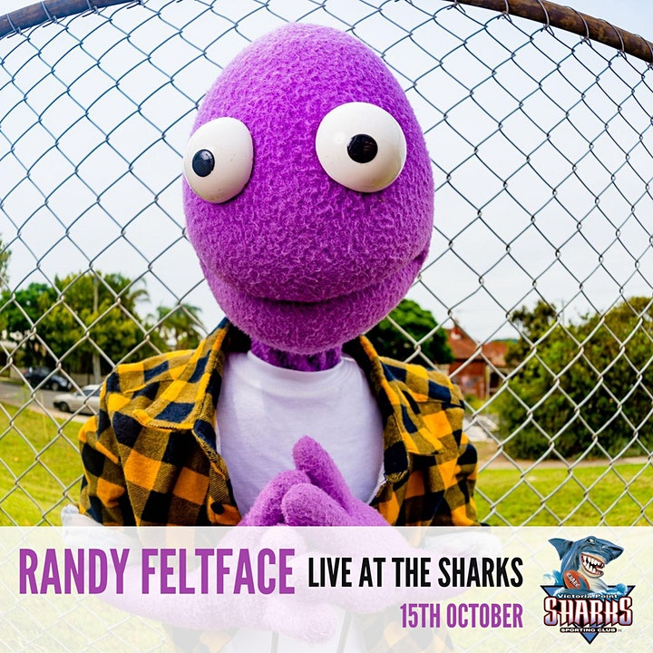 RANDY FELTFACE AT THE VICTORIA POINT SHARKS SPORTING CLUB image