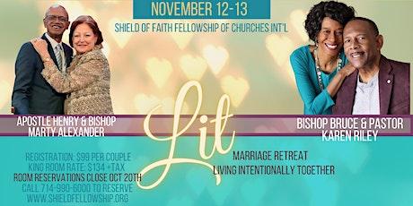 Shield of Faith Fellowship of Churches LIT Marriage Retreat tickets