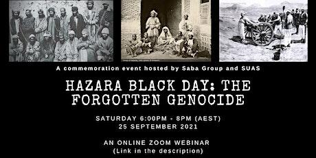 Hazara Black Day: The Forgotten Genocide entradas