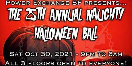 25th Annual Naughty Halloween Ball tickets