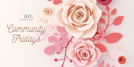 Community Fridays: Creative workshops to unwind - Paper Flowers, Peonies tickets