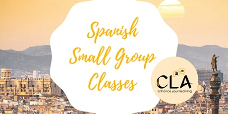 Spanish Small Group Classes - Online and In person tickets