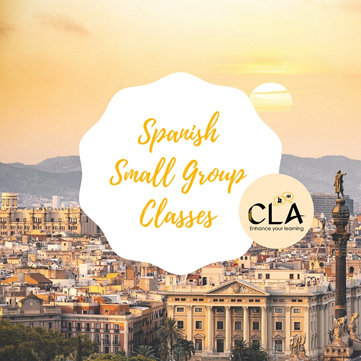 Spanish Small Group Classes - Online and In person image