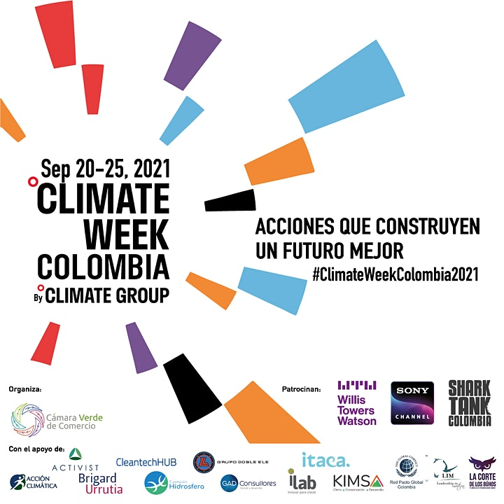 Climate Week Colombia 2021: Reactivación Económica Verde image