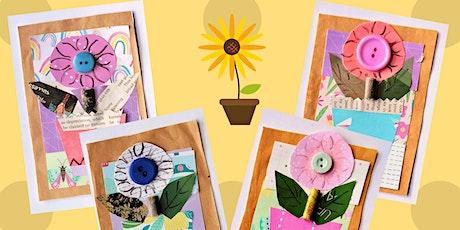 Craft at home: Scrappy little flowerpots tickets
