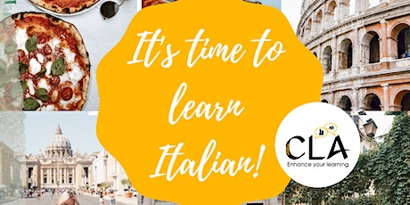 Italian Small Group Classes  - Online and In Person tickets