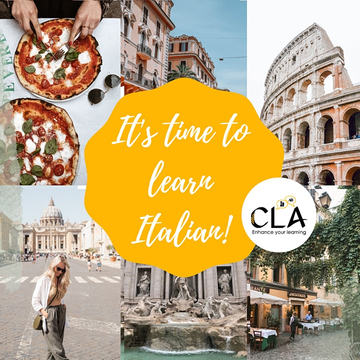 Italian Small Group Classes  - Online and In Person image