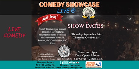 Northern Jersey Comedy Showcase Live @ Tierney's Tavern - Oct 21st, 8pm tickets