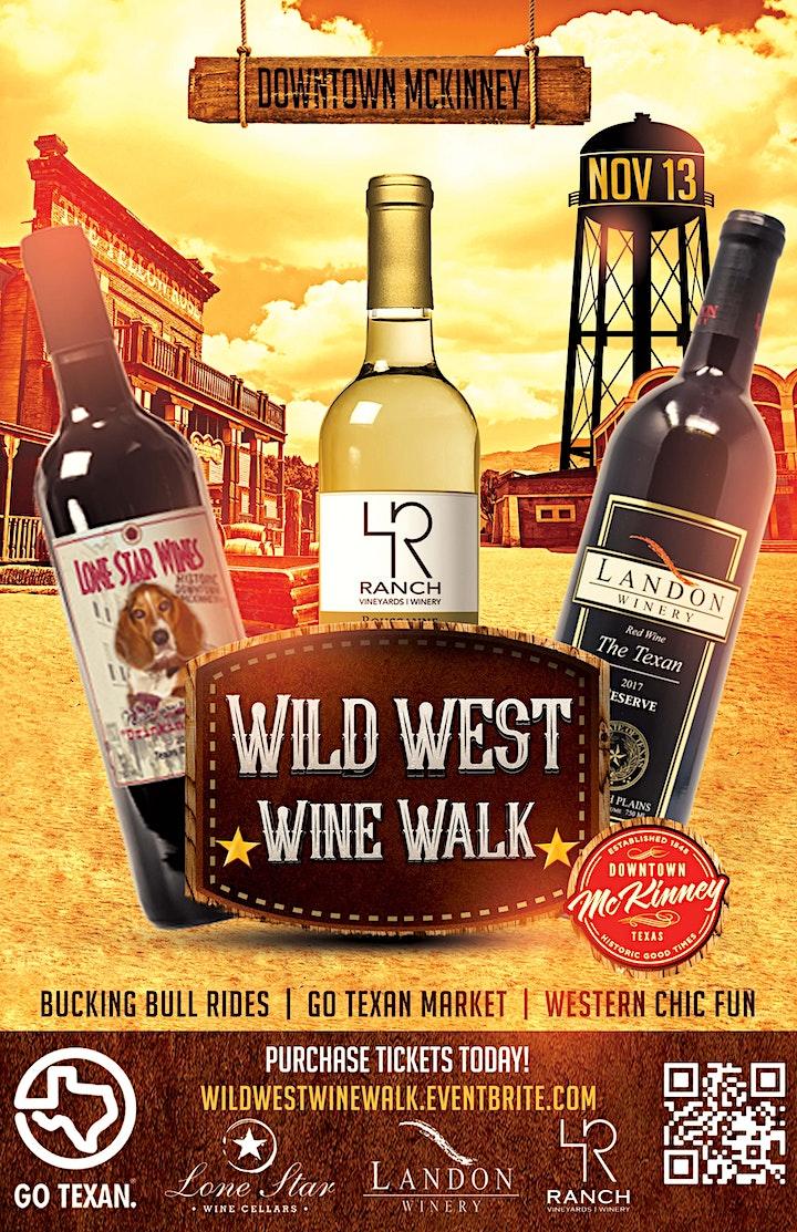 Wild West Wine Walk McKinney image