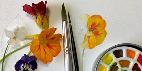 Watercolour online demonstration and do-along tickets