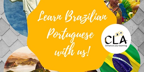 Brazilian Portuguese Small Group Classes - Online and In Person bilhetes
