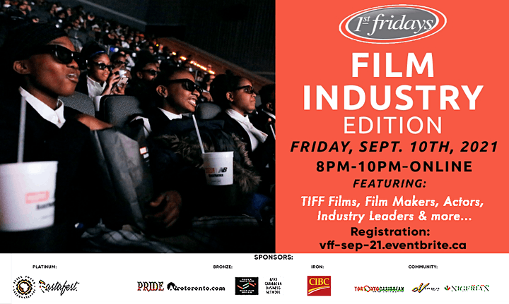 Virtual 1st Fridays Film Industry Edition image