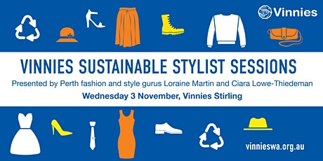 Vinnies Sustainable Stylist Session - Stirling tickets