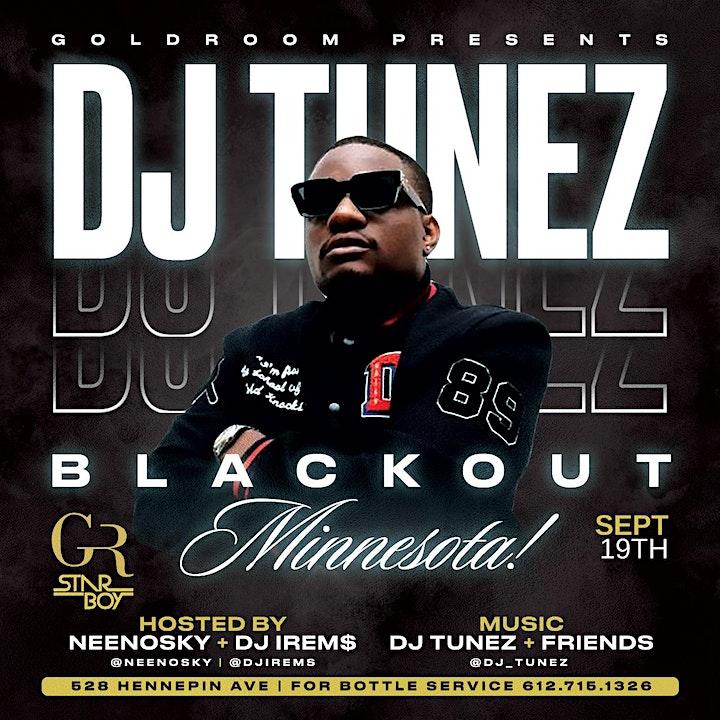 DJ Tunez Blackout Minnesota  (After Party) image