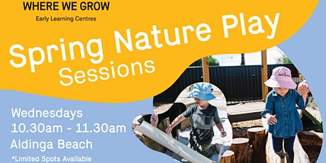 Stay & Play at Aldinga | Spring Nature Play Sessions tickets