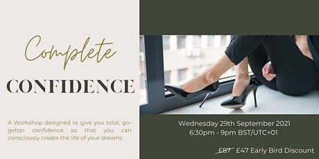 Complete Confidence: The Workshop tickets