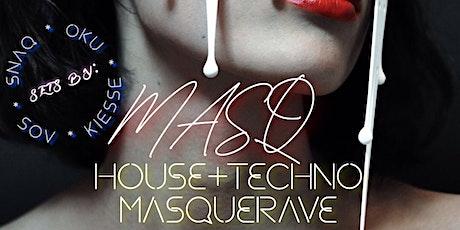HEADRUSH PRESENTS: MASQ  -  HOUSE + TECHNO MASQUERAVE tickets