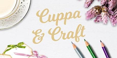 CUPPA & CRAFT  @Bribie Island Shopping Centre tickets