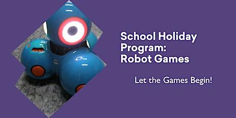 School Holiday Program - Robot Games @ Queenstown Library tickets