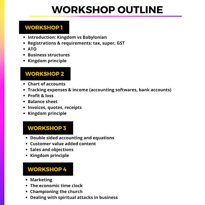 Kingdom Business Workshop image