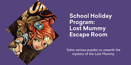 Lost Mummy Escape Room @ Queenstown Library tickets