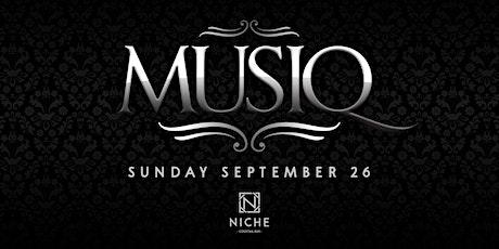 MUSIQ - A Long Weekend Vibe tickets