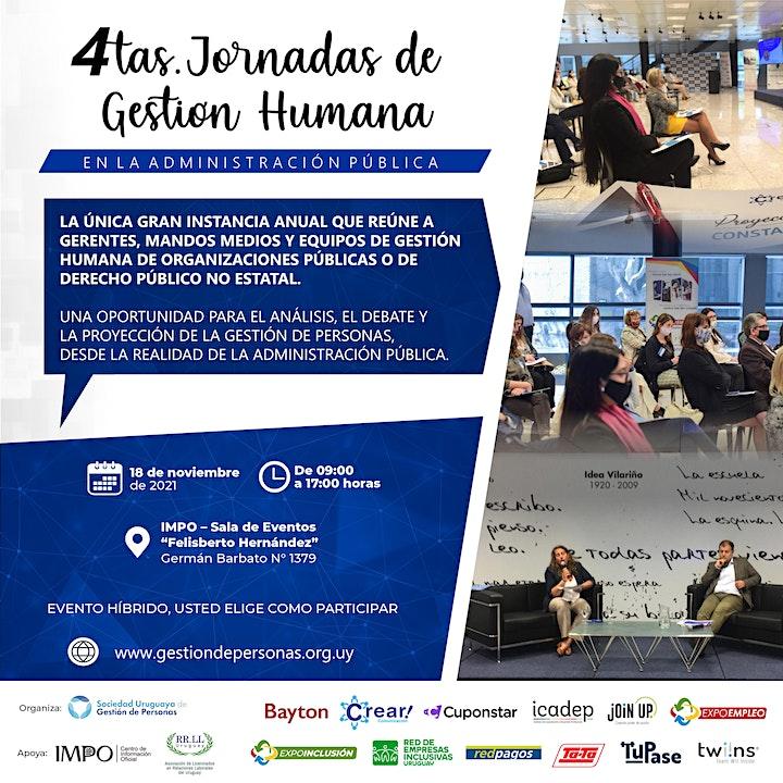 Imagen de 4tas. Jornadas de Gestión Humana en la Administración Pública