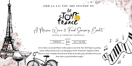 Le Tour De France - A music, food and wine pairings event tickets