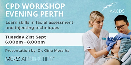 COSMETIC INJECTABLES CPD WORKSHOP EVENING  September 2021 tickets