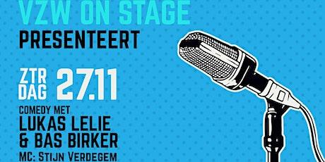 Comedy-night met Lukas Lelie, Bas Birker & MC Stijn Verdegem tickets