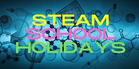 STEAM showcase - STEAM School Holidays - Kids Event tickets