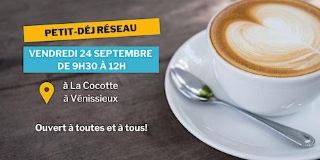 Petit-Déjeuner Réseau à Vénissieux | Positive Planet billets