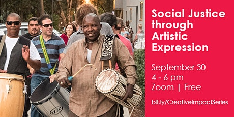 Social Justice Through Artistic Expression tickets