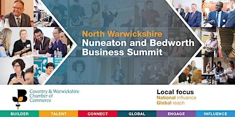 North Warwickshire, Nuneaton and Bedworth Business Summit tickets
