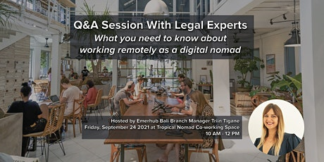 Q&A Session With Legal Experts tickets
