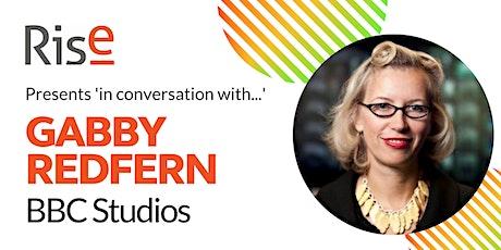 In Conversation with... Gabby Redfern tickets