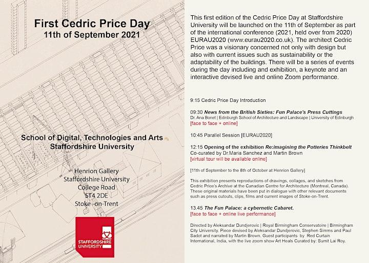 Cedric Price Day at Staffordshire University image
